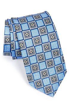 Men's J.Z. Richards Geometric Silk Tie