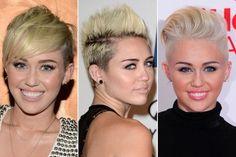 Wir <3 Miley Cyrus Pixie-Cut! Sie beweist, dass sich ein Kurzhaarschnitt durchaus vielfältig stylen lässt!