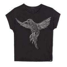 Tee-shirt noir femme IKKS | Mode Femme Hiver 16 (BI10585)