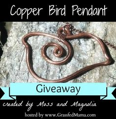 Moss and Magnolia Jewelry Giveaway - Grassfed Mama #jewelry #valentinesday #fashion #copper #upcycle