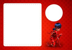 Convite com Foto Miraculous Ladybug
