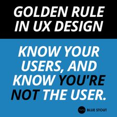 Considering designing your site responsively? Start with this #UX golden rule. http://www.bluestout.com/