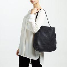 John Lewis Stanley Leather Hobo Bag at John Lewis   Partners 6103d7fe54725