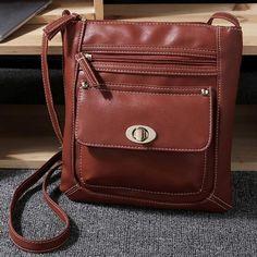 Small PU Leather Handbag Vintage Shoulder Bag Famous Designer Women  Messenger Bag Fashion Female Crossbody Bags Mini Handbags cd056599b3617