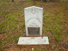 --Unknown Soldier--CSA--Mar. 1864--THE LONE SOLDIER--Reinterred from a Lone Grave on the Alabama Highway February 2, 1991 (by ...rome6lg.jpg (800×600)