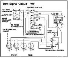 Wiring diagram for models from August 1970 (1971 model