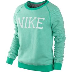 Nike Check Sweatshirt Perennial Merchants ($26) ❤ liked on ...