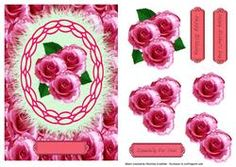 Especially For You Pink Roses Happy Birthday Mothers Day