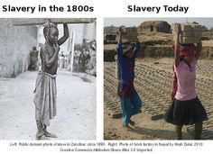 Where is slavery now?