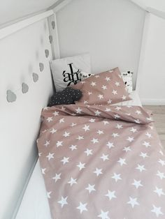 Baby cotton star bedding set baby dovet cover by BabyMoreGoods