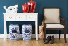 East-Meets-West Accent Furniture