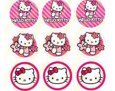 Resultado de imagen para hello kitty bottle cap images