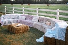 decorate with staw bales - Google Search