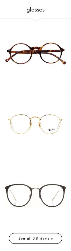 """glasses"" by sabina-127 ❤ liked on Polyvore featuring accessories, eyewear, eyeglasses, glasses, sunglasses, fillers, sport glasses, vintage eyeglasses, leopard print eyeglasses and round eyeglasses"