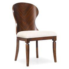Hooker Furniture Palisade Wood Back Side Chair - Set of 2 - HOOK3450