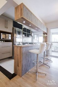 Browse photos of Small kitchen designs. Discover inspiration for your Small kitchen remodel or upgrade with ideas for organization, layout and decor. Kitchen Bar Design, Home Decor Kitchen, Interior Design Kitchen, New Kitchen, Home Kitchens, Kitchen Designs, Home Decor Furniture, Kitchen Remodel, Sweet Home