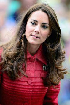 Kate Middleton Long Wavy Cut