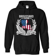 I Love Broussard T-shirt and hoodie T-Shirts