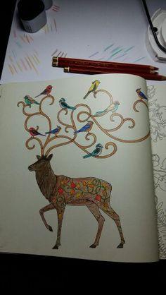 Deer #enchanted forest