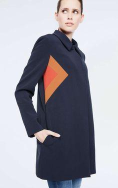 manteau sage - Manteau Femme Color