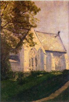 Church at Blainville - Marcel Duchamp