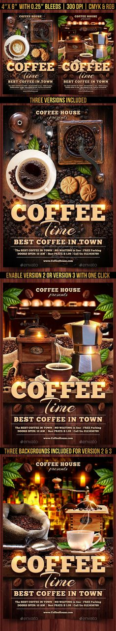 Template designs of food banners More Food icons and Background - coffee shop brochure template