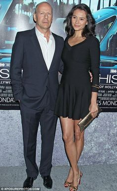 bruce willis's children photo gallery | Baby on board: Bruce Willis's wife Emma Heming is pregnant with their ...