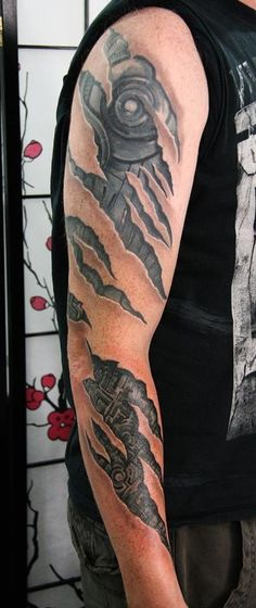 Biomech arm by Mantas in Worthing, UK #tattoo