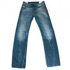 580d4ce9 Diesel Viker R Box 8QK Mens Jeans | 008QK | Straight | Diesel Jean Sale