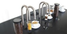 Scanomat has created an all-in-one automatic coffee machine that dispenses coffee through a faucet/tap. Called the 'Top Brewer', the.