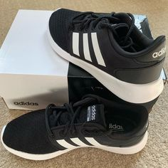 Adidas Shoes 80% OFF! ►► Click To Shopping Now) Adidas Shoes | Adidas Qt Racer Sneaker Nwot | Color: White/Black | Size: 5.5 #Adidas #Adidasshoes #shoes #style #Accessories #shopping #styles #outfit #pretty #girl #girls #beauty #beautiful #me #cute #stylish #design #fashion #outfits #diy #design