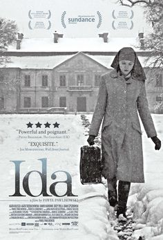 ida 2013 - Pawel Pawlikowski's Ida, an black-and-white film about a young nun in post-World War II Poland, is getting a U. Over the past year, Ida has made the rounds at world film festivals, collecting prizes and rapturous responses. Films Étrangers, Films Cinema, Cinema Posters, Film Posters, Comedy Movies, Horror Films, Great Films, Good Movies, Film Movie