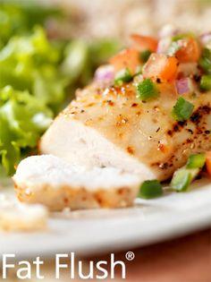 Limey Chicken- Official Fat Flush Recipe