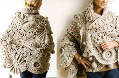 """Pattern found in book entitled """"Crocheting on the Edge"""" by Nicky Epstein"""