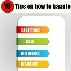 Xmas is approaching - so if you want to get a bargain online or in the shops, here are some haggling tips to help you out! #haggling #deals #bargains