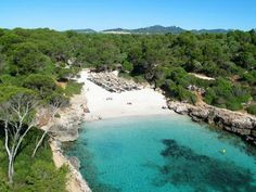 CALA SA NAU BEACH, Majorca, Balearic Islands, SPAIN #wildbeach [© unknown] ➳ wilderness beach