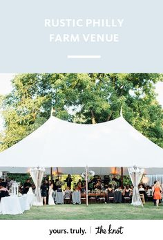 This gorgeous country venue is adored for its stunning meadows and gardens.