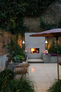 Urban fireside garden 9 Charlotte Rowe copyright Clive Nichols