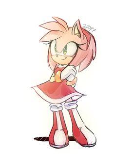 More fan art....Of amy rose