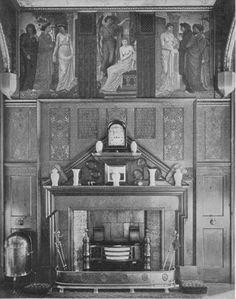 Cast-Iron and Brass Pillar Grate (Philip Webb) |Antiques Gibilaro Design