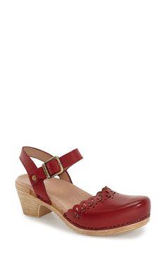 Dansko 'Marta' Ankle Strap Clog (Women) available at #Nordstrom