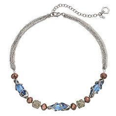 Simply Vera Vera Wang Beaded Fireball Multi Strand Necklace