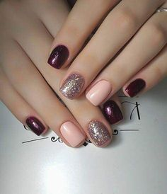 15 Trending Nail Designs That You Will Love! - Best Nail Art, 15 Trending Nail Designs That You Will Love! - Best Nail Art, Professionally performed and how to shape nails coffin pattern on nails can be done not only with the help of brushes Fancy Nails, Cute Nails, Pretty Nails, Cute Simple Nails, Cute Short Nails, Gorgeous Nails, Do It Yourself Nails, How To Do Nails, Simple Nail Art Designs