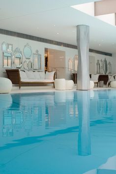 The 16,000-square-foot Clarins Spa is the largest in Paris, with a hammam and a 75-foot pool. Le Royal Monceau Raffles Paris (Paris, France) - Jetsetter