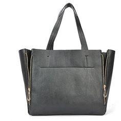 2-ways Zipper Tote Bag $39.00