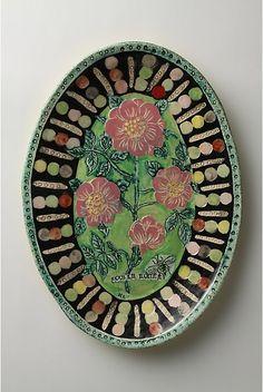 rose platter