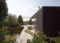 Teichhaus par Hammerschmid Pachl Seebacher Architekten