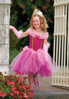C538 - Sleeping Beauty - Velvet leotard with glitter dot mesh trim. Attached two-tone tulle over organza skirt.