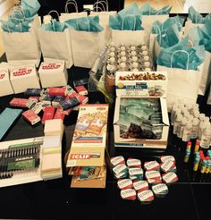 Goody Bag/Marketing-Real Estate-This is a great giveaway to your fellow REALTOR's at a broker's open house or any continuing education classes you might offer. We're always on the run and it's nice to have a few of these things stashed away in the car!