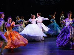 "These are costumes from Rodgers and Hammerstein's ""Cinderella,"" now on Broadway."